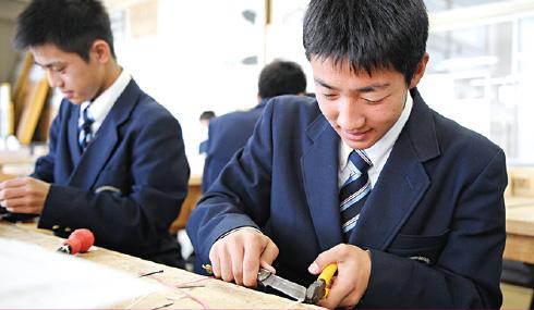 電気科 楽しみながら 学び・実習・資格取得